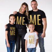 Me Mini Me, Black/Gold, White/Gold