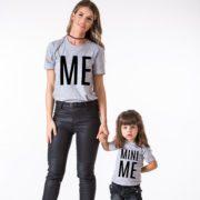 Me, Mini Me, Gray/Black