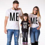 Me Mini Me, White/Black, Black/White