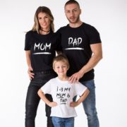 Mom, Dad, I love mom and dad