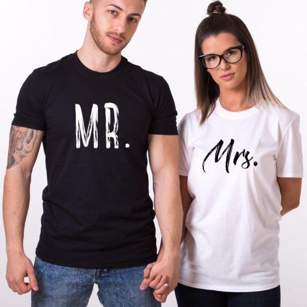 Mr., Mrs., Black/White, White/Black