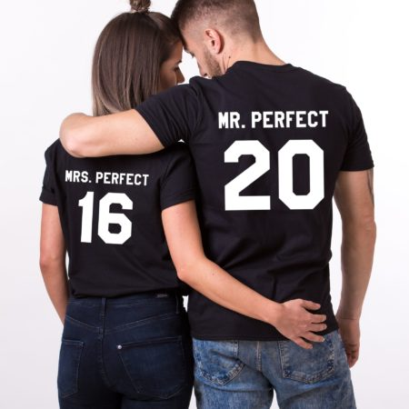Mr. Perfect Mrs. Perfect, Matching Couples Shirts