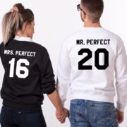 Mr. Perfect, Mrs. Perfect, Black/White, White/Black