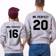 Mr. Perfect, Mrs. Perfect, Gray/Black