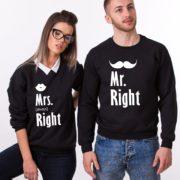 Mr. Right, Mrs. Always Right, Black/White