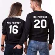 Mrs. Perfect, Mr. Perfect, Black/White