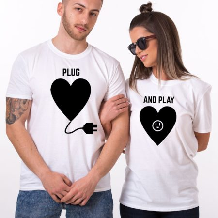 Plug Play Shirts, Matching Couples Shirts