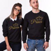 Prince, Princess, Black/Gold