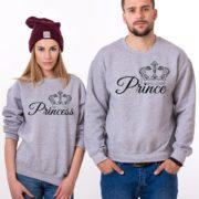 Prince, Princess, Gray/Black