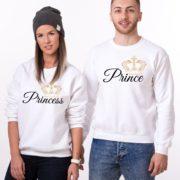 Prince, Princess, White/Black