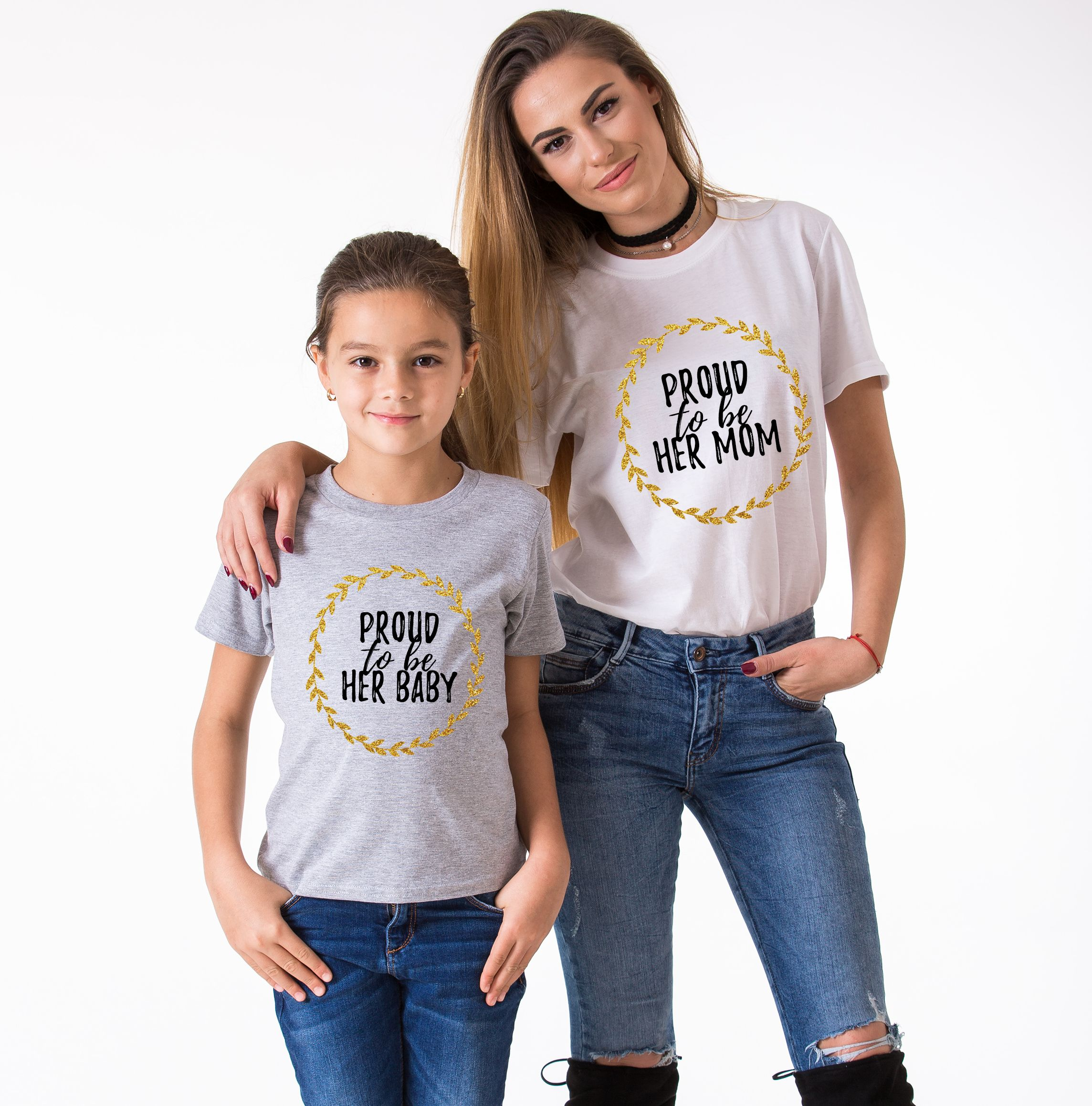 Mother Daughter Shirt, Proud to be Her Mom, Proud to be ...