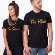The King The Queen, Black/Gold