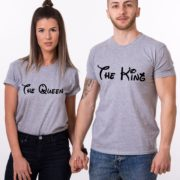 The King The Queen, Grey/Black