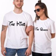 The King The Queen, White/Black