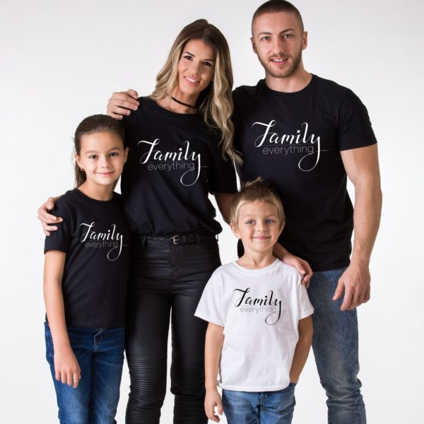Family Everything, Black/White, White/Black