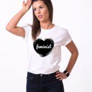 Feminist, White/Black