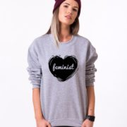 Feminist Sweatshirt, Feminism Sweatshirt, UNISEX