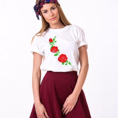 Flower Shirt, Rose Shirt, Nature Shirt, Single Shirt, Unisex