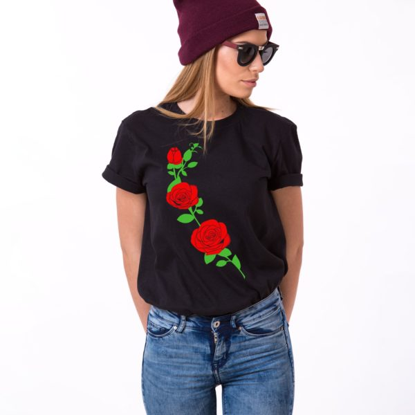 Roses, Black