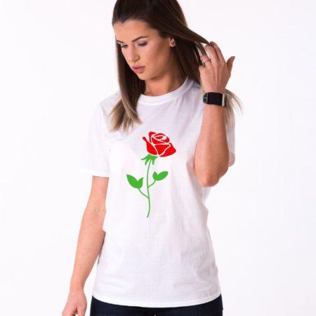 Red Rose Shirt, Flower Shirt, Nature Shirt, Single Shirt, Unisex