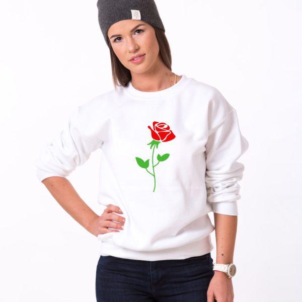 Rose, White