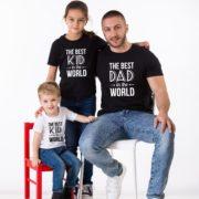 Best Dad in the World, Best Kid in the World, Black/White, White/Black