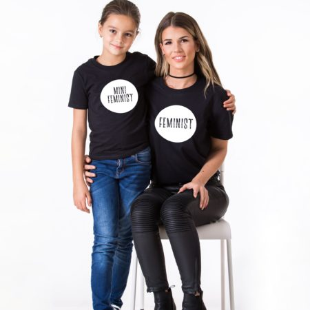 Feminist Mini Feminist Shirts, Matching Mommy and Me Shirts