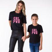 GRL PWR, Black/Pink