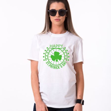 St. Patrick's Day, Clover, Happy St. Patrick's Day Shirt, UNISEX