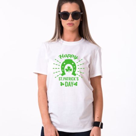 Irish Shirt, Happy St. Patrick's Day, Horseshoe, St. Patrick's Day Shirt