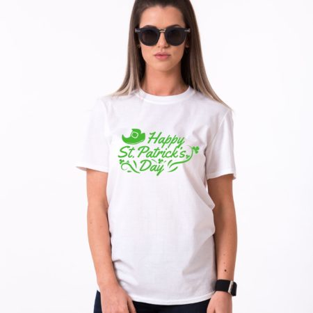 St. Patrick's Day, Leprechaun Shoe, Clover, Happy St. Patrick's Day Shirt