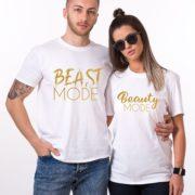 Beast Mode, Beauty Mode, White/Gold