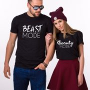 Beast Mode, Beauty Mode, Black/White