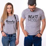 Beast Mode, Beauty Mode, Gray/Black