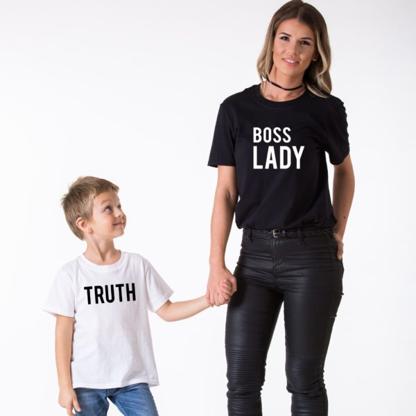 Boss Lady, Truth, White/Black, Black/White