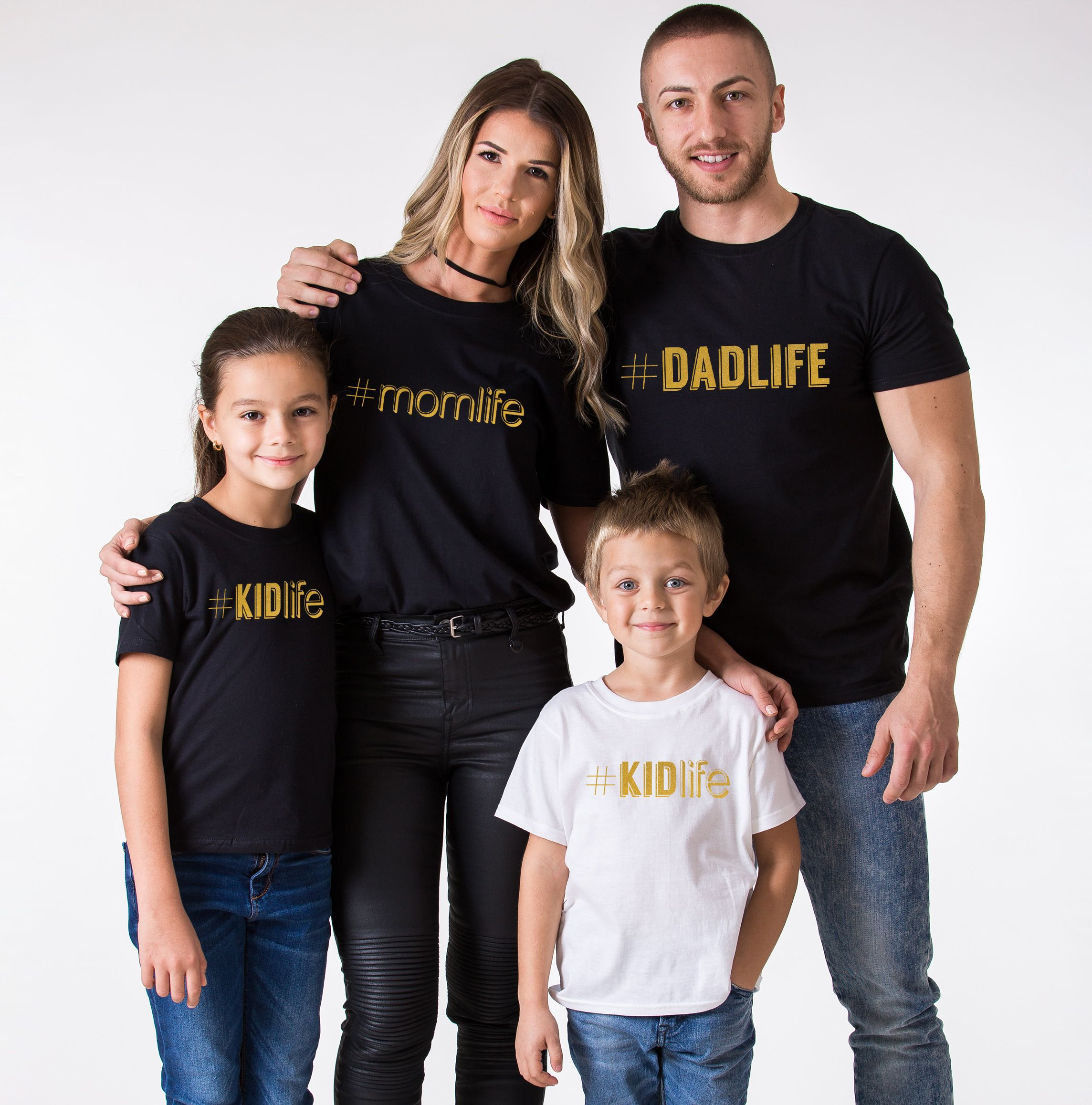 Dadlife Momlife Kidlife Babylife Shirts Matching Family Shirts