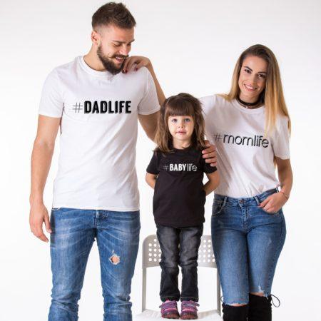 Dadlife Momlife Kidlife Babylife Shirts, Matching Family Shirts
