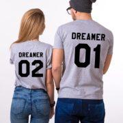 Dreamer 01, Dreamer 02, Gray/Black