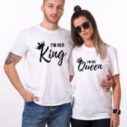 I'm Her King, I'm His Queen, White/Black