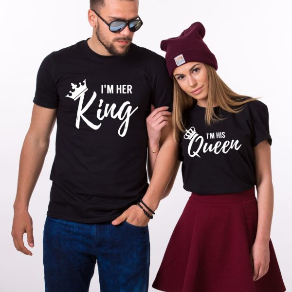 I'm Her King, I'm His Queen, Black/White