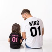 King 01, Princess 01, Black/Pink, White/Black