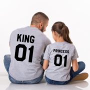 King 01, Princess 01, Gray/Black