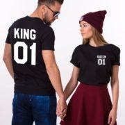 King 01, Queen 01, Black/White