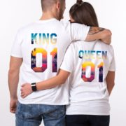 King, Queen, Tropical, White