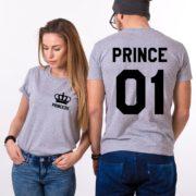 Prince 01, Princess 01, Gray/Black