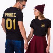 Prince 01, Princess 01, Black/Gold