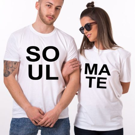 Soul Mate Shirts, Matching Couples Shirts, UNISEX