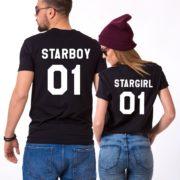 Starboy, Stargirl, Black/White