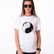 Yin Yang Cat Shirt, Yin Yang Shirt, Cat Shirt, Unisex