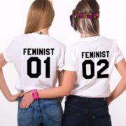 Feminist 01, Feminist 02, White/Black